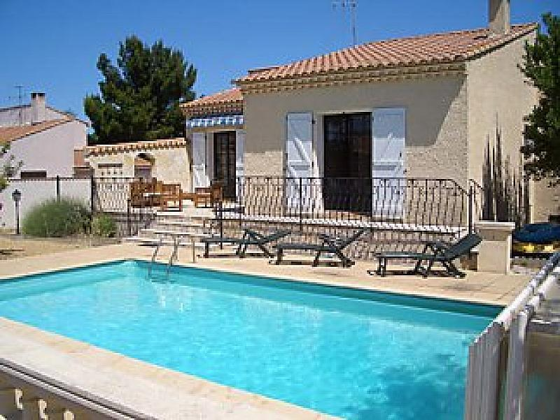 Villa. Nissan Lez Enserune. Languedoc. Property. Holiday Home. Swimming pool.