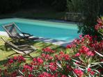 Maison Olivier Capestang Languedoc house rental holiday visit property private swimming pool sunbeds