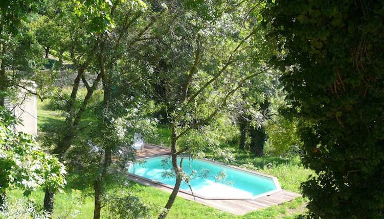 New Villa on edge of Cévennes National Park with Pool. 3 bedrooms, sleeps 4-6 (ALES102J)