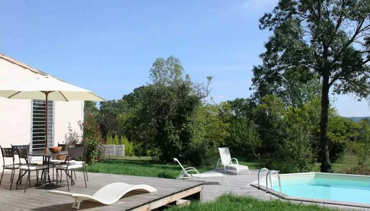 New Villa On Edge Of Cévennes National Park With Pool. 3 Bedrooms, Sleeps 4