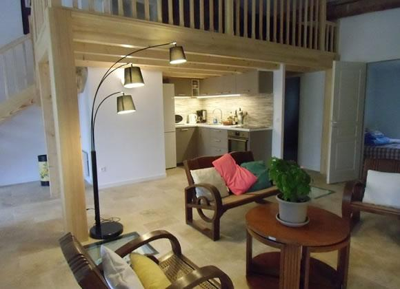 La Piscine - Great apartment with style and private garden, shard pool. Sleeps 3.  (ALIG116)