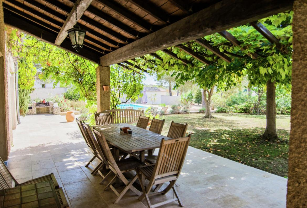5 Bedroom Holiday Rental Villa With Pool In Campagnan