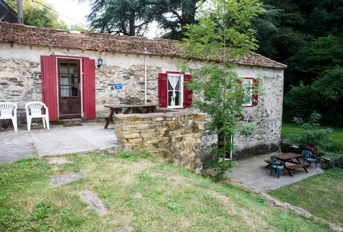 Converted mill houses with shared pool - Moulin Haut sleeps 6 - 8 (CARC102)