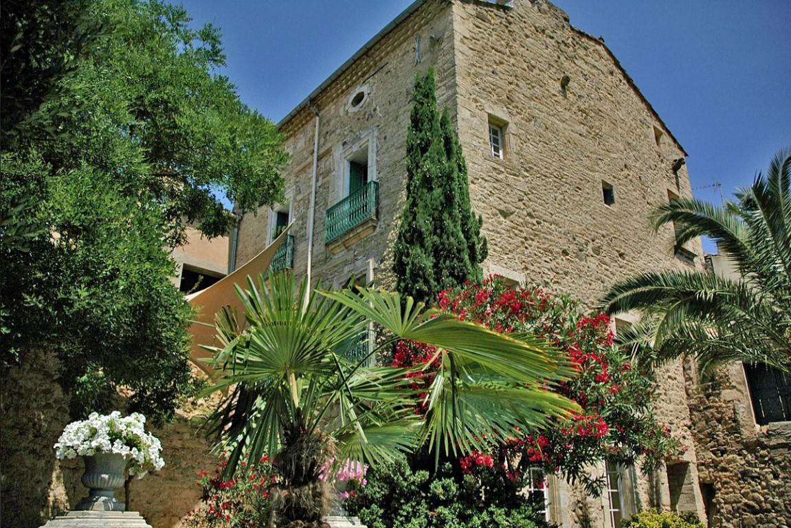 Beautiful Chateau with private swimming pool located in Montblanc, in the heart of a Languedocian village. Sleeps 13. (CHAT102)