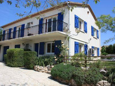 Luxury Villa with pool, pool house and 5 bedrooms (LESP101)