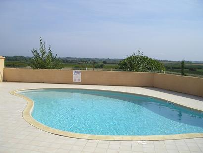 Villa Jessie Swimming Pool Portiragnes Plage Residence Moulin De La Mer  View Vines Holiday Rental Summer