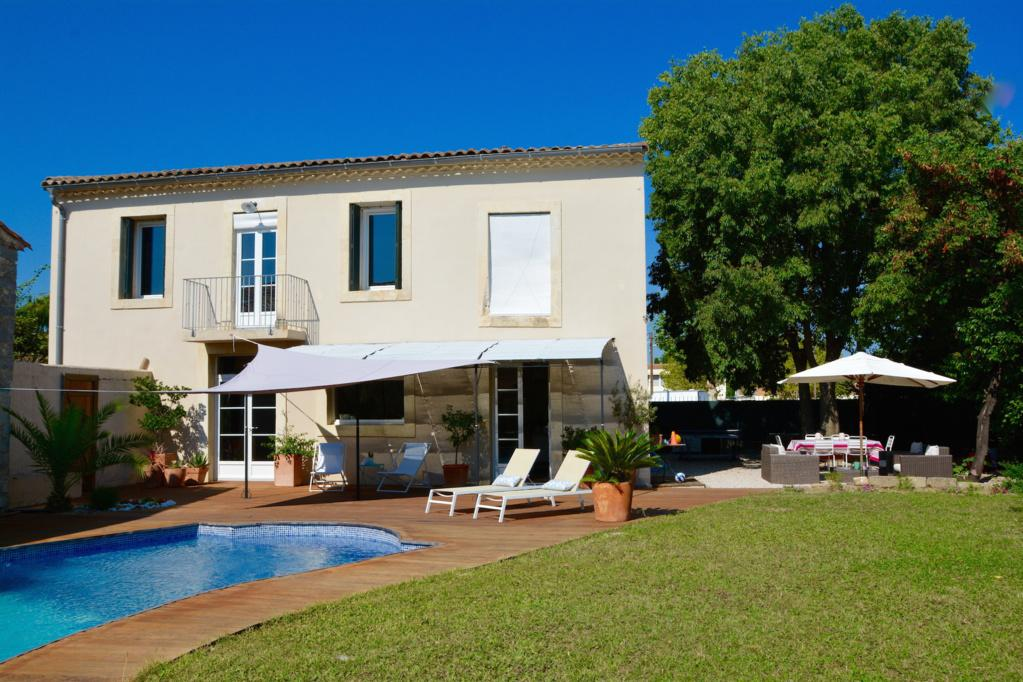Charming Stone House near Montpellier with Pool. Five bedrooms, sleeps up to 9 (MONT137GN)