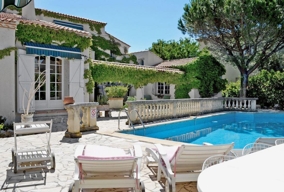 ... 9 Near Montpellier, Languedoc Roussillon, Ideal For A Family Holiday,  This Self Catering Home Offers A Wonderful Private Pool Area With Sun  Loungers And ...