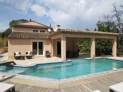 Luxury Villa in Le Plan de la Tour with private pool and internet. Sleeps 7 to 10 (PDLA108)