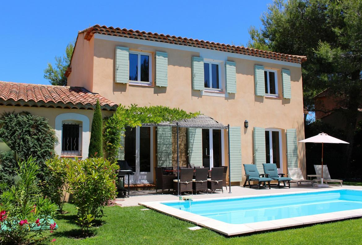 Lovely PONT106   Villa With Private Pool On A Golf And Country Club In Provence