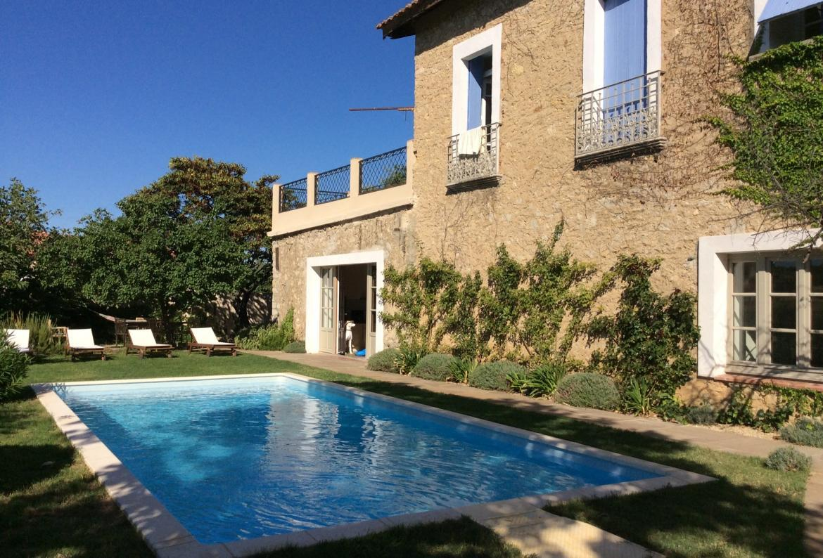 Beautifully appointed holiday home, with a private swimming pool, garden and large Moroccan-inspired terrace. Sleeps 10. (PUIL109)