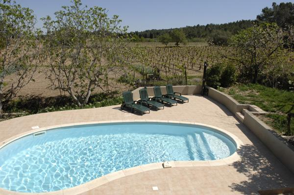Maison du Midi Tourouzelle languedoc house rental holiday visit property private pool sunloungers sun