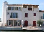 Waterside Villa in Aigues Mortes. Private Pool. 4 bedrooms, sleeps up to 8 (AGM102)