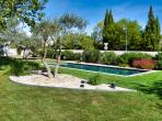 Beautiful 4 bedroom house in Aigues Vives with air conditioning, private pool and very child friendly. (AIGV101)