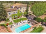 Stunning farmhouse located in a quiet area of Aix, complete with heated swimming pool and beautiful grounds - sleeps 14 (AIX101)