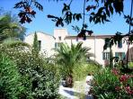 Laudes is located near Tourbes on a residence which is an old Priory. With a shared swimming pool and private garden. 1 bedroom, sleeps 3. (ALIG102)