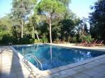 Dainty apartment with a shared and heated swimming pool, located near Tourbes. One bedroom, sleeps 2 to 3 people.  (ALIG103)