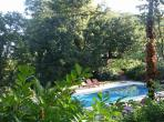 south of the Herault Le Preau Languedoc rental holiday visit property apartment outdoor pool apartment sunlounger nature