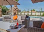 Argeliers Beziers Narbonne house Languedoc rental holiday visit property patio