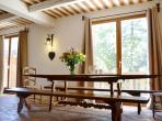 Spacious Chalet suitable for Summer or Winter Lets. 5 bedrooms, sleeps up to 12 (AURON101)