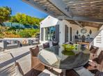 BEAU107Q - Modern Luxury Villa with heated pool overlooking Gulf of St Tropez. Sleeps 8, 4 bedrooms