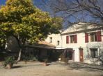 Lovely 3 bedroom gite with aircon, large garden and swimming pool, near Beziers and beaches. Sleeps 6. (BEZ122)
