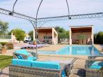 Prestigious Villa on Golf Resort. Private Pool. Two Apartments with 6 bedrooms, sleeps up to 12. (BEZ128J)