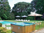 BIA102 - Beautiful 19th century stately home located in wonderful Biarritz, walking distance from the beach. Private swimming pool, sleeps 16.