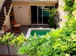 Beautiful village house Cazouls d'Herault Languedoc rental property visit holiday pool terrace courtyar private enjoy