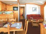 2 bedroom holiday home to sleep 6 near courchevel alps (CCHFRS013)