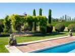 Stunning Manoir with saltwater swimming pool and tennis court. Sleeps up to 14 (EYGA116)