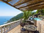 Luxury Villa with Amazing seaviews. Private Pool. 4 bedrooms to sleep 10. (EZE103OL)