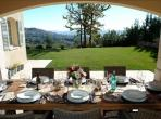 Luxurious Villa with 4 bedrooms, heated pool and breathtaking views. (FAY102)