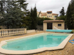 GEN112 - Beautiful 3 bedroomed villa with private swimming pool, located in St Genies, sleeps 8.