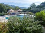 Stunning 4 bedroom house with a private saltwater pool, located in quiet and picturesque Chateauneuf de Grasse. Sleeps 8. (GRAS123)