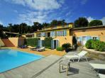 GRIM111Q - Luxury Villa to sleep 10 in Grimaud, St Tropez, Var