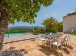 19th Century Farmhouse with Large Pool and Stunning Views. Sleeps 8, 4 bedrooms. (GRIM133)