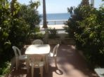 Super two-bedroomed apartment right on seafront at Juan les Pins. Sleeps 4 (JUA106)