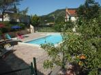 Villa with gite in Lamalou with new heated pool. Sleeps 10 (LAM105)