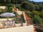 Hillside Apartment with stunning views. Sleeps 6. (LARO103)