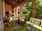 Beautiful family holiday villa with beautiful private pool in the countryside. 4 bedrooms, sleeps 8. (LAUR111)