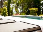 Luxury House in Chateau Estate with Garden and Private Pool. 3 bedrooms, sleeps 6-8 (LESCA105)