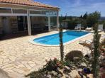 LEU101 - Immaculately presented villa in Fitou, Aude, with pool. Sleeps 6-8, 4 bedrooms.