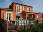 Family villa with 4 bedrooms, a private solar-heated swimming pool, internet and aircon. Sleeps up to 10 people. (LODE104)
