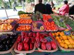 Vegetables, fruit, food, markets, french, typical, sunday mornings holiday rental