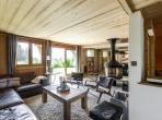 Luxury ski chalet sleeping 10 people, stunning views, concierge service, sauna and ideal for families. (MEG103PS)