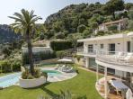 Beautiful architect designed villa hidden in the hills above Monte Carlo with private infinity swimming pool, sleeps 8. (MONA101Q)