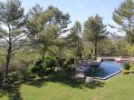 Villa of Unusual Design with pool, near Montpellier. Sleeps 12, 5 bedrooms (MONT121GN)