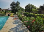 Maison de Maitre in village centre with large garden and brand new pool. 7 bedrooms to sleep 14 (MURV101)