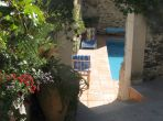 NAZ101 - Beautiful 17th Century House located in St Nazaire-de-Ladarez, complete with a private swimming pool and 3 bedrooms. Sleeps 6.